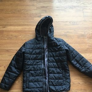 Under Armor cold gear zip up jacket with hood